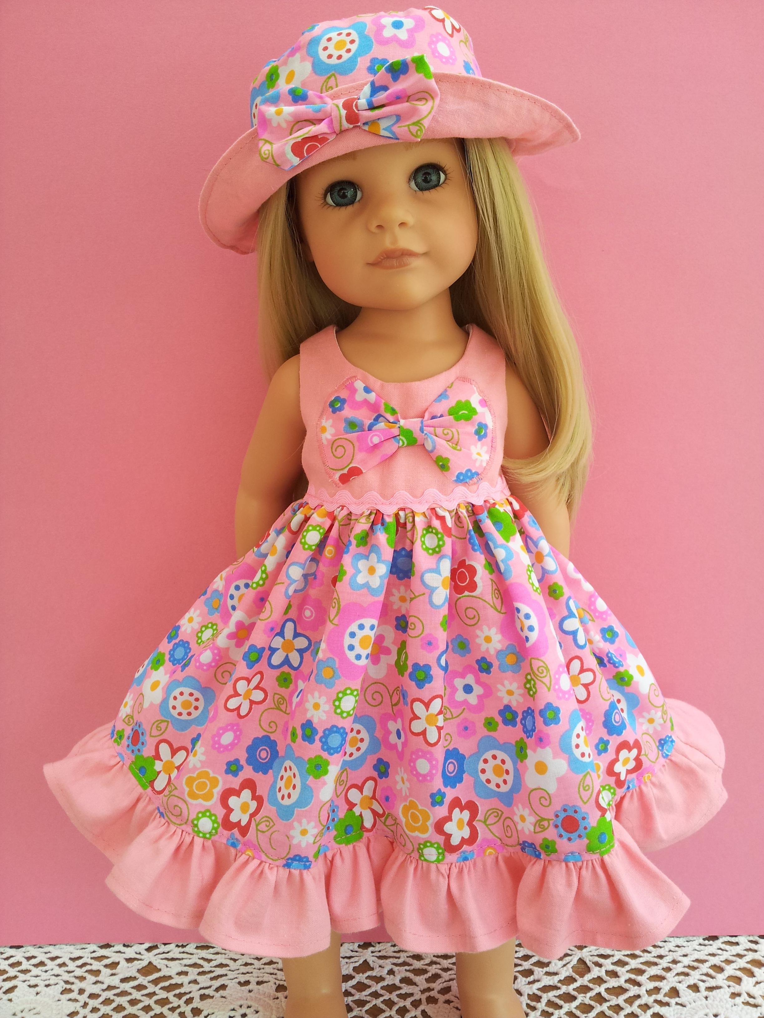 Summer Dresses | SalStuff Handmade Dolls Clothes